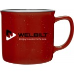 12oz Cambria Mug (Red) Custom Imprinted