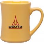 15oz Bedford Mug (Yellow) Custom Printed