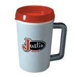 Logo Printed LIL BUB 22 oz. Insulated Mug with Drink-thru Lid