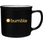 Logo Printed 12oz Cambria Mug (Black)