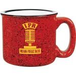 Custom Imprinted 15 Oz. Red Campfire Mug