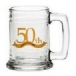 15 Oz. Glass Mug Custom Imprinted