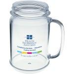 Custom Branded 16 Oz. Mason Jar Mug