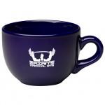 Custom Imprinted 24 oz. Cobalt Blue Souper Mug