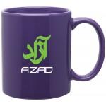 11oz C-Handle Mug (Purple) Custom Printed
