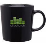 Custom Branded 14oz Enzo Mug (Black)