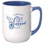 17 Oz. Arlen Ceramic Mug Custom Imprinted