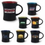 10 oz. Rye Green In / Matte Black Out Hilo Mug Custom Printed