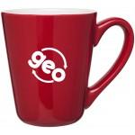 Logo Printed 16oz Vito Mug (Red)