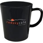 Logo Printed 12 Oz. Plastic Latte Mug