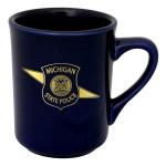 8.5 Oz. Color Porcelain Toledo Mug Custom Printed