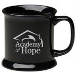 13.5 oz. Black VIP Collection Mug Logo Printed