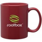 11oz C-Handle Mug (Cardinal) Custom Imprinted