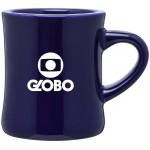 Custom Imprinted 10oz Diner Mug (Cobalt Blue)