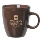 20 Oz. Color Ceramic Cleveland Mug Custom Imprinted
