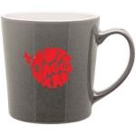 Custom Imprinted 16oz Mona Mug (Gray)