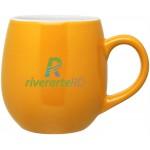 Logo Printed 16oz Rotondo Mug (Yellow)
