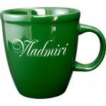 20 oz. Green Mocha Mug Logo Printed