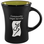 Logo Printed Slim Mug Two-Tone Matte - Rye Green