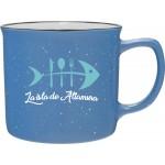 Custom Imprinted 12oz Cambria Mug (Sky Blue)