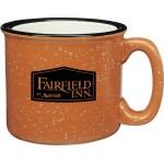 Custom Branded 15 Oz. Campfire Ceramic Mug