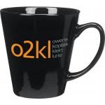 Custom Imprinted 12 Oz. Color Ceramic Caf Mug