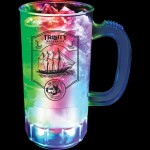 14 Oz. Lighted Plastic Mug w/3 LEDs Custom Imprinted