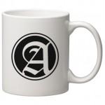 11 oz. White C Handle Mug Custom Printed