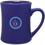 Custom Imprinted 15oz Bedford Mug (Cobalt Blue)