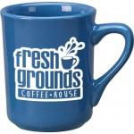 Custom Imprinted 8.5 oz. Ocean Blue Toledo Mug