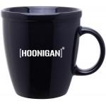 18oz Coffee House Mug (Black) Logo Printed