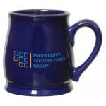 Custom Branded 16 Oz. Color Spokane Ceramic Mug