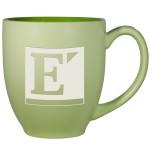 Light Green Pastel Bistro Mug (16 Oz.) Custom Imprinted