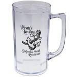 16 Oz. Polystyrene Beer Mug Custom Imprinted