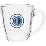 Custom Imprinted 16oz Tapered Mug (Clear)