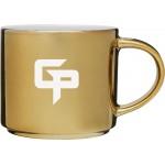 16oz Monaco Mug (Gold) Custom Printed