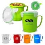Logo Printed Soup Mug