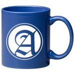 11 oz. Ocean Blue C Handle Mug Custom Printed