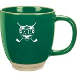 14 Oz. Color Ceramic Heartland Bistro Mug Logo Printed