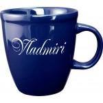 20 oz. Cobalt Blue Mocha Mug Custom Printed