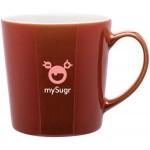 16oz Mona Mug (Cajun Red) Logo Printed