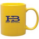 11oz C-Handle Mug (Yellow) Custom Printed