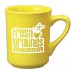 Custom Imprinted 8.5 oz. Yellow Toledo Mug