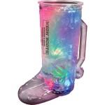 20 Oz. Lighted Plastic Cowboy Boot Mug w/3 LEDs Custom Imprinted