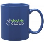 11oz C-Handle Mug (Royal Blue) Logo Printed