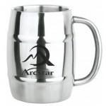 Custom Printed 14 Oz. Stainless Steel Keg Mug