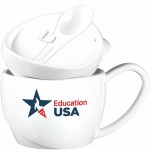 Logo Printed 15 Oz. Soup Mug Soupreme USA - Made in the USA
