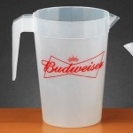 Custom Printed 64 Oz. Plastic Stackable Pitcher