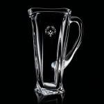 Logo Branded Oasis Water Pitcher - 36oz Crystalline