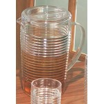 Promotional Ringed Pitcher w/ Lid (96 Oz)